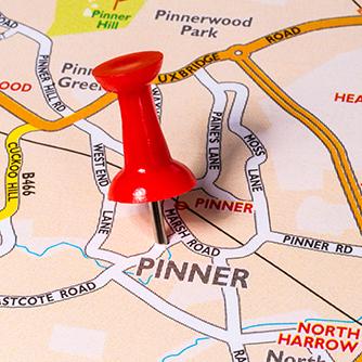 Pinner Map