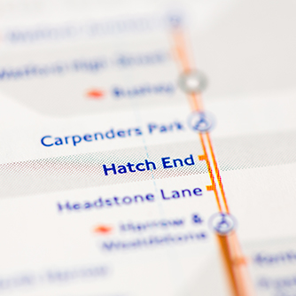 Hatch End Rail Map